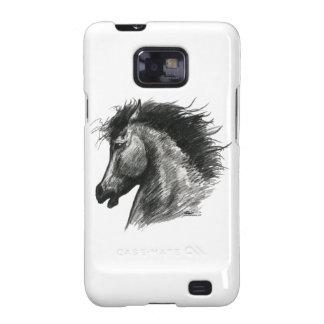 Fiery Wild Horse Samsung Galaxy SII Case