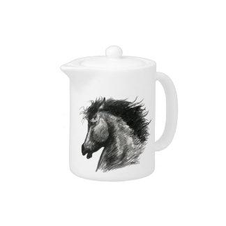 Fiery Wild Horse