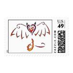 Fiery Wings Stamps