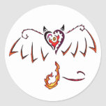 Fiery Wings Stickers