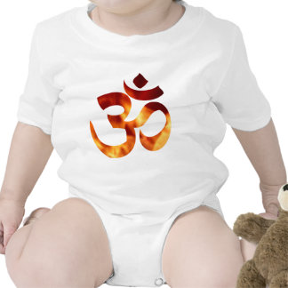 Fiery Yoga Symbol Shirt