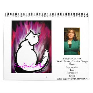 FieryStarCat Calendar