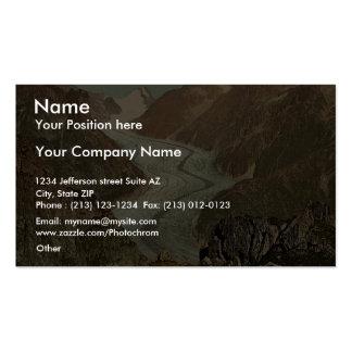 Fiescher Glacier Valais Alps of Switzerland vin Business Cards