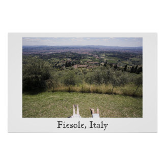 Fiesole, Italy Poster