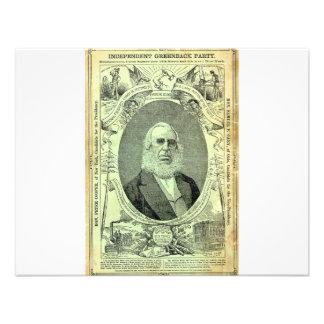 Fiesta 1876 de dolar invitacion personal