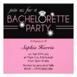 Fiesta 2 de Bachelorette del rosa del anillo de Bl Comunicados Personalizados