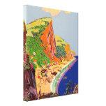 fiesta 37x45 de la playa lienzo envuelto para galerias