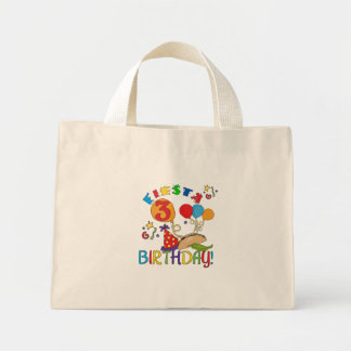 Fiesta 3rd Birthday T-shirts and Gifts Tote Bag