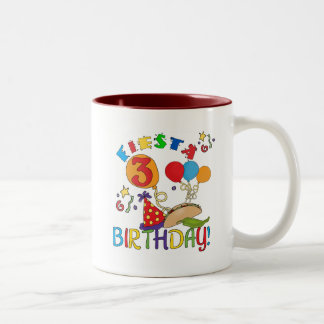 Fiesta 3rd Birthday T-shirts and Gifts Mugs