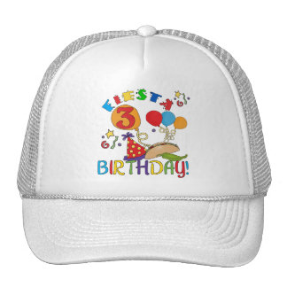 Fiesta 3rd Birthday T-shirts and Gifts Trucker Hat