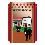 Fiesta 5x7 Paper Invitation Card