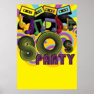 fiesta 80s poster