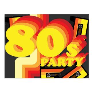fiesta 80s postal