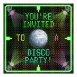 Fiesta adaptable de la bola de discoteca de los añ
