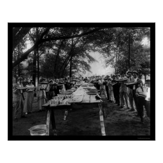 Fiesta Alabama 1917 de la sandía Impresiones