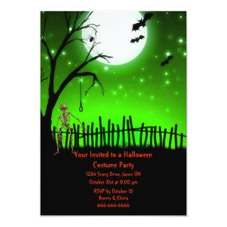 Fiesta asustadizo de Halloween Invitación