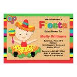 Fiesta Baby Shower Invitation