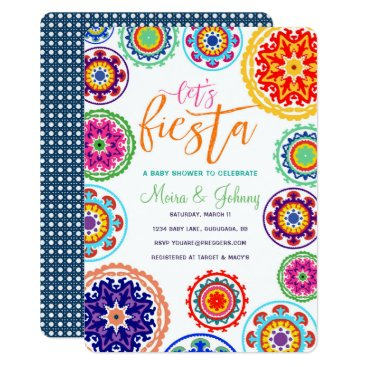 Toddler & Baby themed Fiesta Baby Shower Invitation