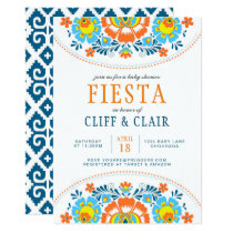 Fiesta Baby Shower Invite