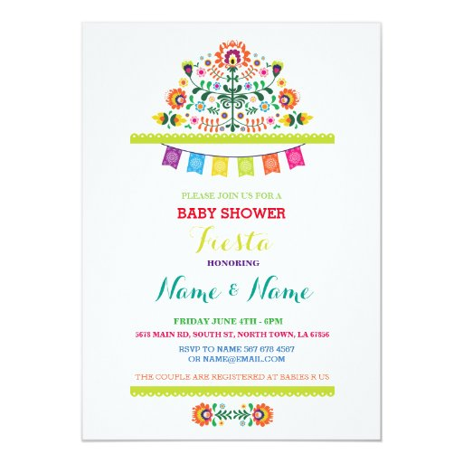 Mexican Baby Shower Invitations is adorable invitations ideas