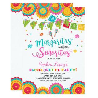 Fiesta Bachelorette Party Invitation Señorita Fun