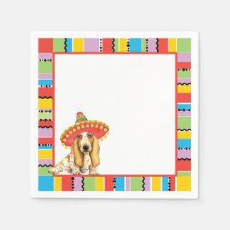 Fiesta Basset Paper Napkin
