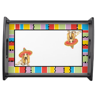 Fiesta Basset Serving Tray