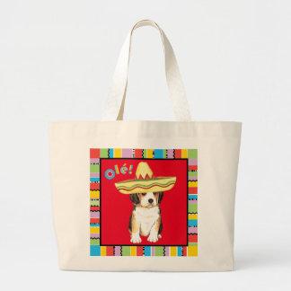 Fiesta Beagle Large Tote Bag