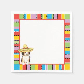 Fiesta Beagle Napkin