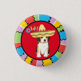 Fiesta Beagle Pinback Button