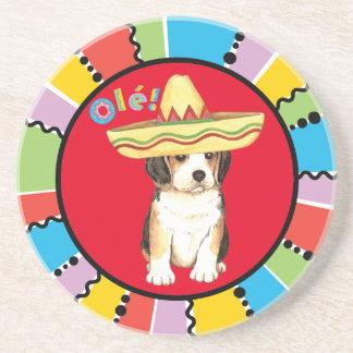 Fiesta Beagle Sandstone Coaster