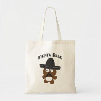 Fiesta Bear Tote Bags