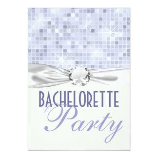 fiesta bling del bachelorette del encanto y del invitación personalizada