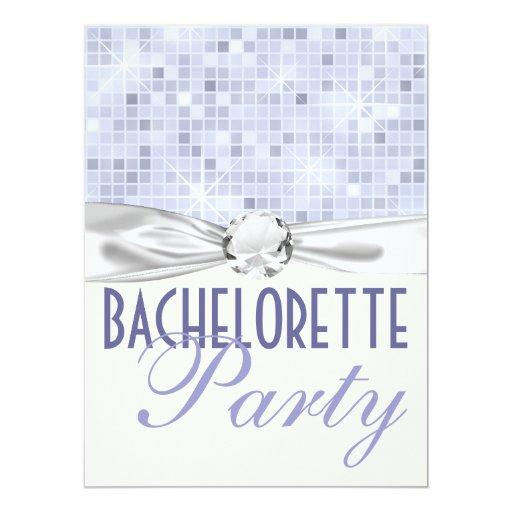 """fiesta bling del bachelorette del encanto y del invitación 6.5"""" x 8.75"""""""