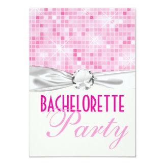 fiesta bling rosado del bachelorette de la chispa comunicado