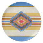 Fiesta Blue Melamine Plate