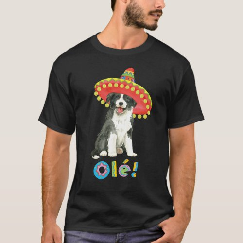 Fiesta Border Collie T_Shirt