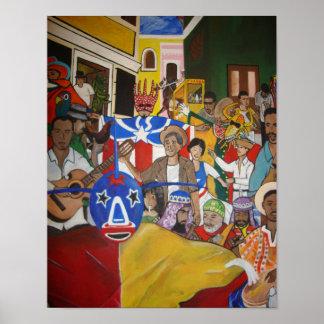 Fiesta Boricua Poster
