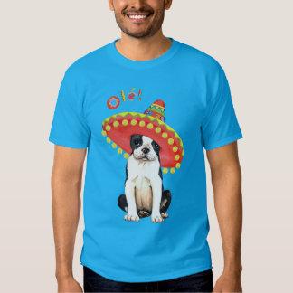 Fiesta Boston Terrier Poleras