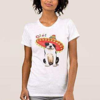 Fiesta Boston Terrier Tee Shirt