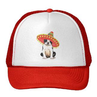 Fiesta Boston Terrier Trucker Hat