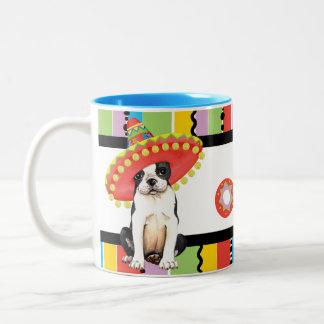 Fiesta Boston Terrier Two-Tone Coffee Mug