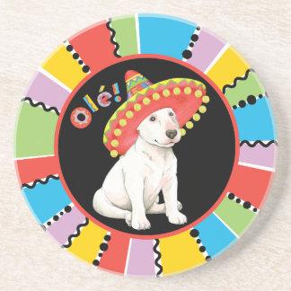 Fiesta Bull Terrier Coaster