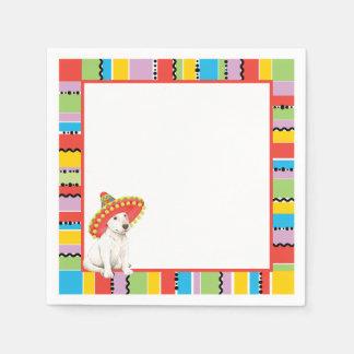 Fiesta Bull Terrier Paper Napkin