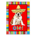 Fiesta Bulldog Card