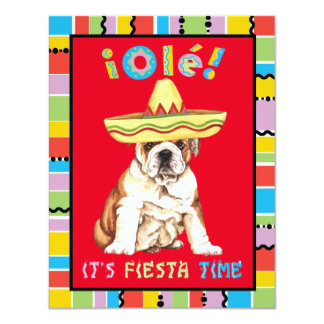 Fiesta Bulldog Card