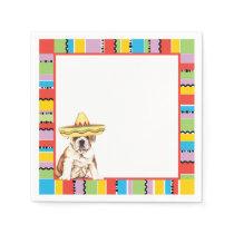 Fiesta Bulldog Napkin
