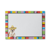 Fiesta Bulldog Post-it Notes
