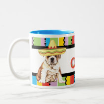 Fiesta Bulldog Two-Tone Coffee Mug
