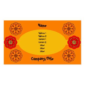 Fiesta Business Card Templates